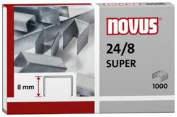 Drátky do sešívačky Novus 24/8, 1000ks-Drátky 24/8 SUPER - 1000 ks