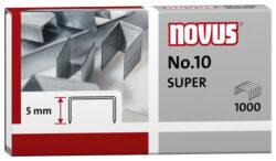 Drátky do sešívačky Novus No.10, 1000ks