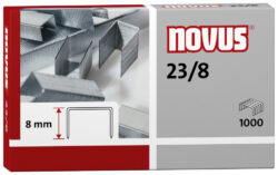 Drátky do sešívačky Novus 23/8, 1000ks-Drátky 23/8 - 1000 ks