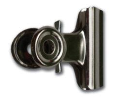 Klip na dokumenty pružinový 50mm s magnetem