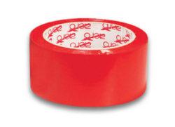 Páska samolepící 50 mm x 66 m červená