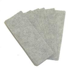 Stěrka mazací - náhradní plstěné polštářky, 12 ks-Výměnné stírací vložky na tabuli do magnetických stěrek. V balení 10 kusů.