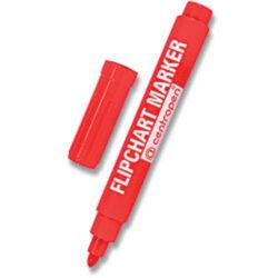Popisovač Centropen 8550 červený-Flipchart Centropen.