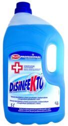 Madel Disinfekto Odor free 5 l (universal)-Tekutý dezinfekční a čisticí prostředek Disinfekto s vůní proti bakteriím a plísním bez obsahu chlóru.