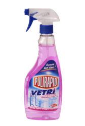 Madel Pulirapid Vetri s pumpou 500 ml-Čistič na okna Pulirapid Vetri je váš účinný pomocník při úklidu skleněných povrchů a předmětů. Zanechává je perfektně čisté a naleštěné beze šmouh.
