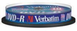 DVD-R 16x4,7 GB Verbatim / Spindle 10ks